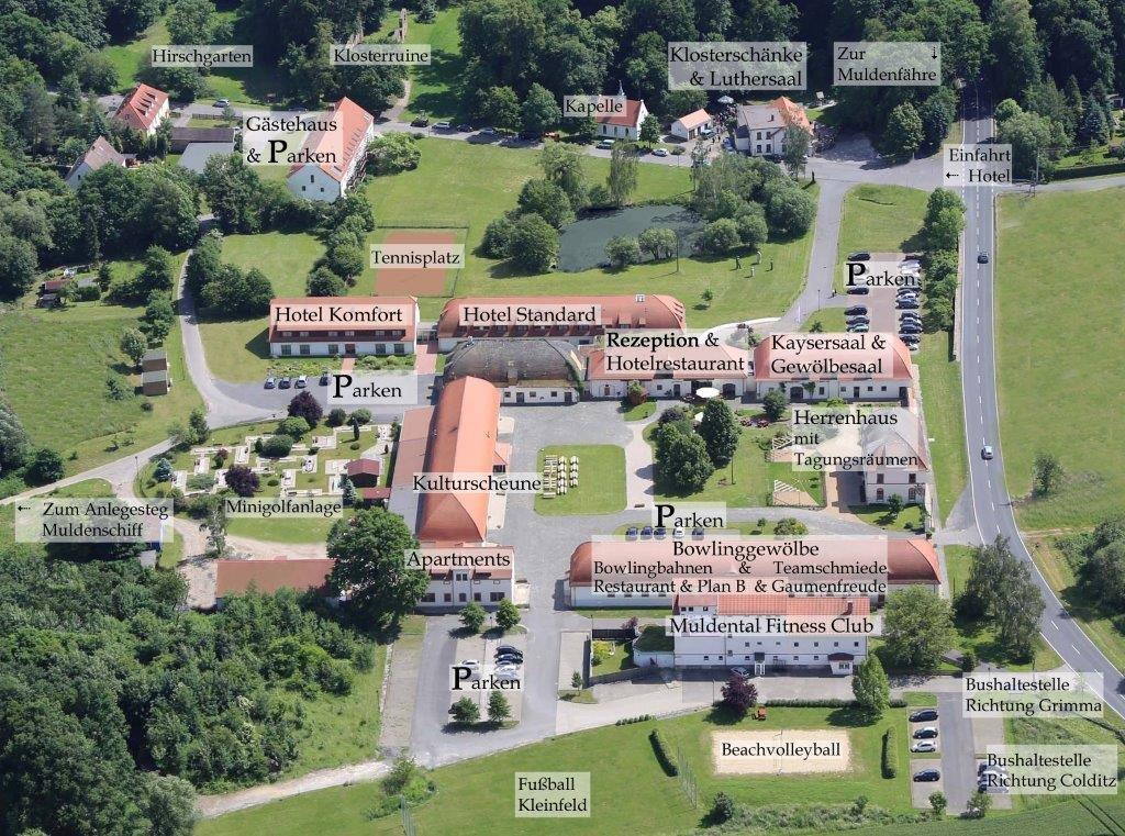 Anfahrt - Hotel Kloster Nimbschen Grimma